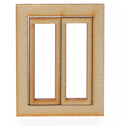 Infisso legno presepe 4,5x3,5 1