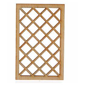 Verja belén madera 7x4,5 cm s1