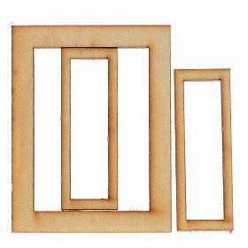 Marco madera belén 6,5x5 cm s2