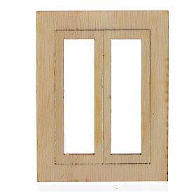 Infisso legno presepe 6,5x5 cm s1