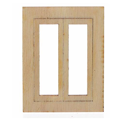 Infisso legno presepe 6,5x5 cm 1