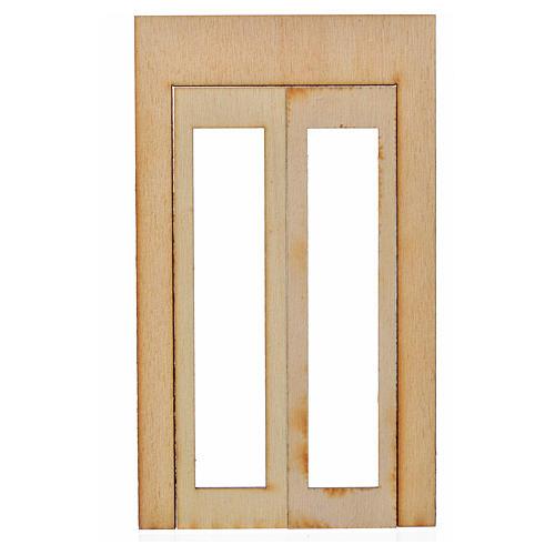 Nativity accessory, wooden frame 15x9cm 1