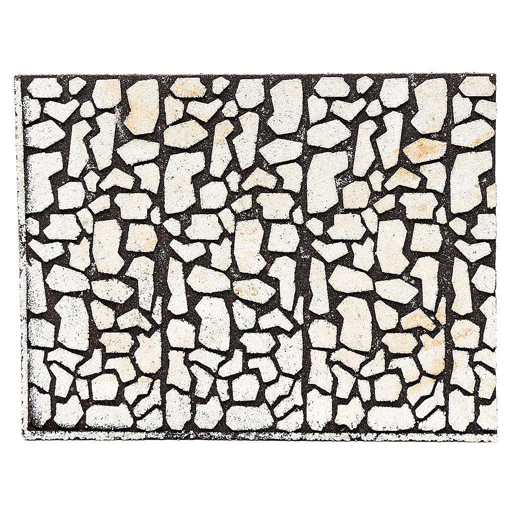 Panneau liège pour crèche imitation pierres irrégulières 24, 4