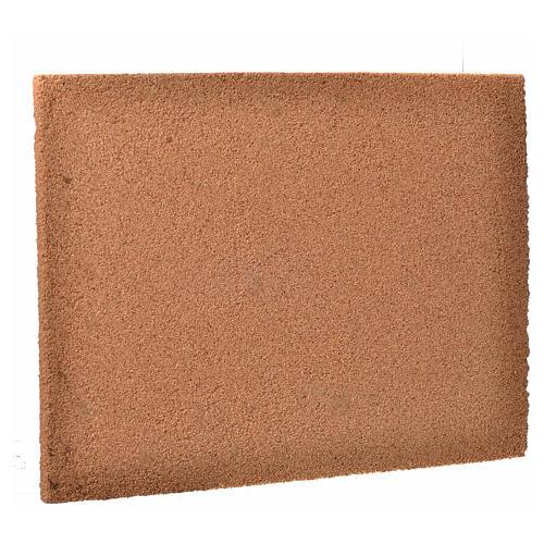 Pannello sughero presepe disegno pietra 24,5x33 cm 2