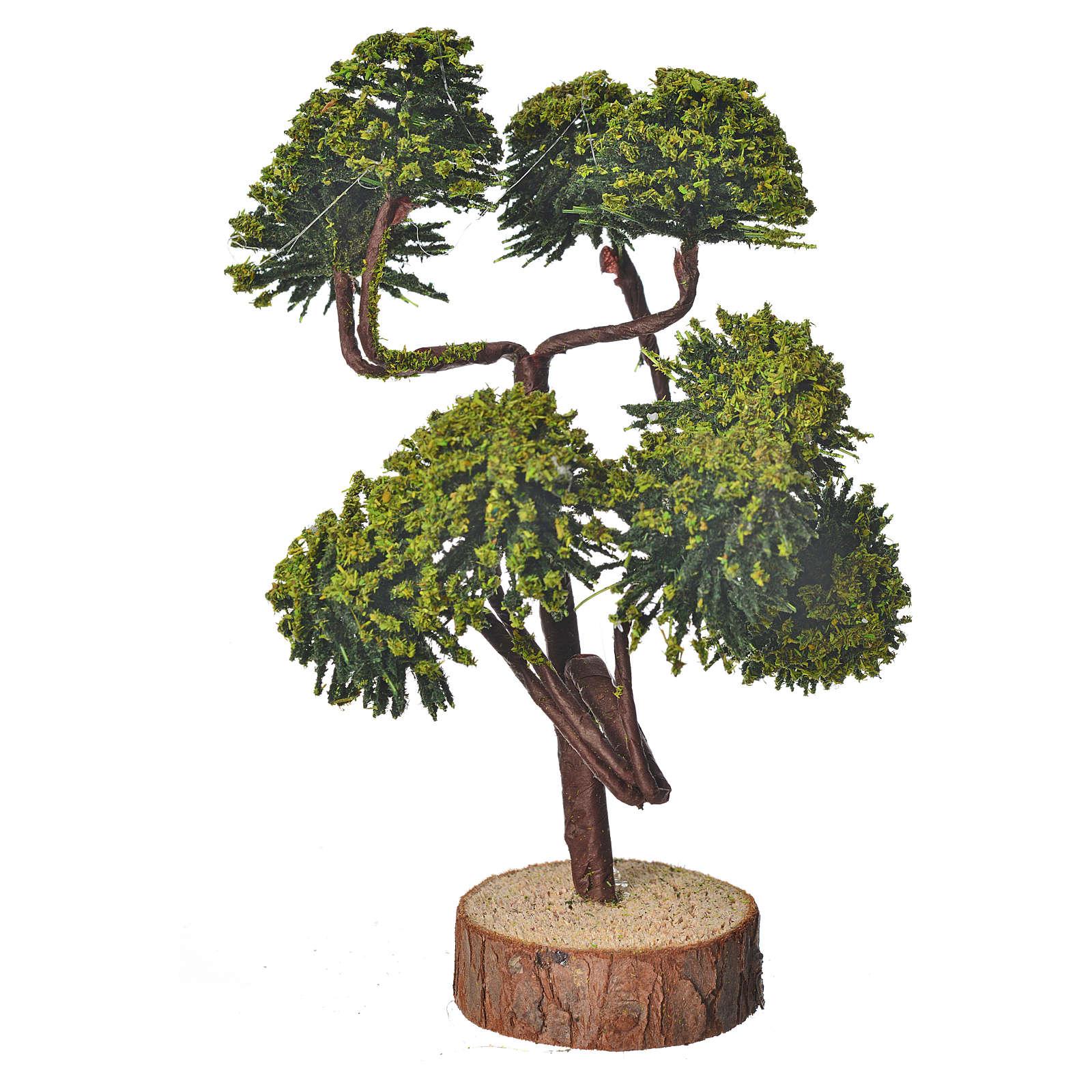 Arbre miniature pour crèche 12 cm 4
