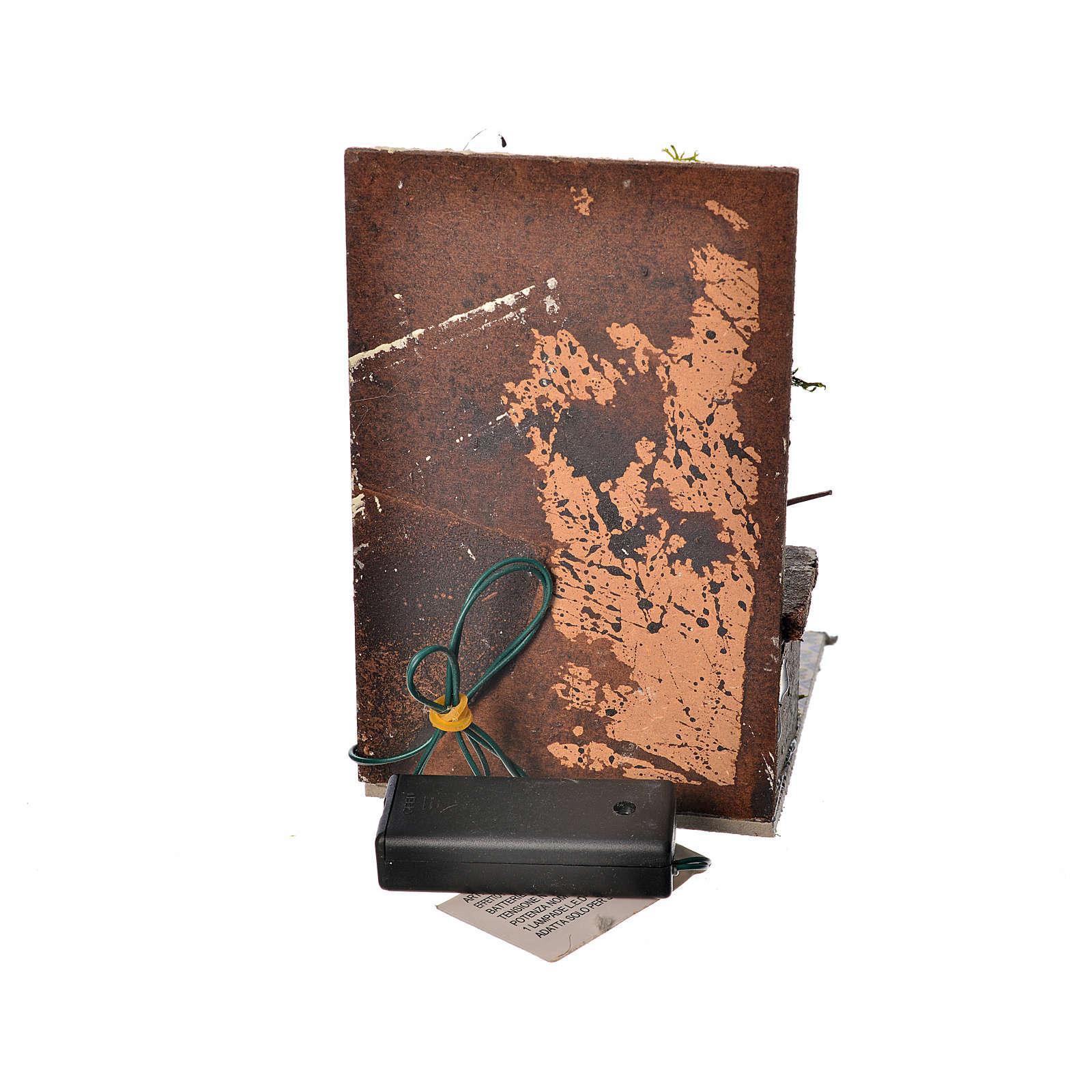 Cozinha com 1 Led vermelho tremulante 9x9,5x15 cm 4