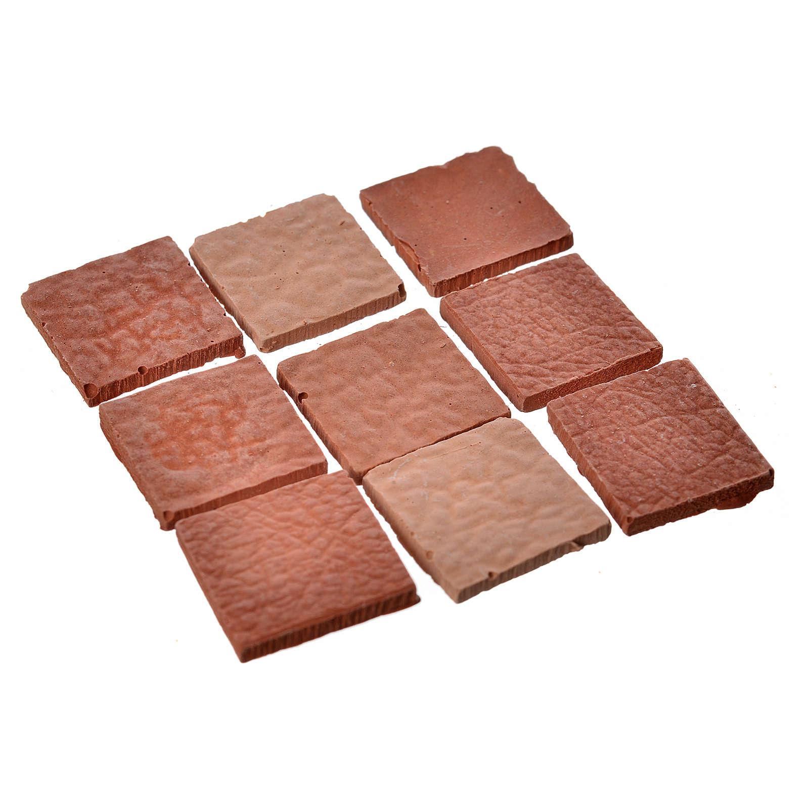 Płytki kwadratowe żywica 15x15 mm 50 sztuk 4