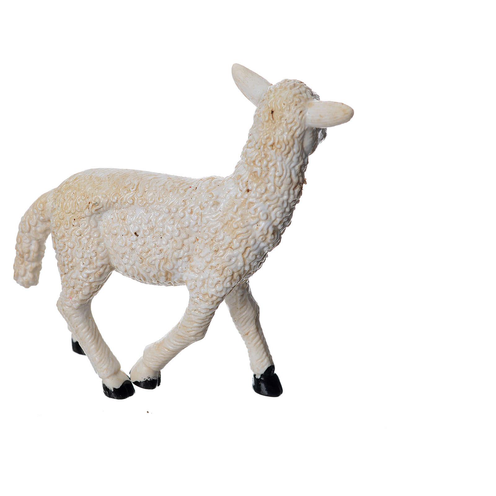 Sheep in resin H8cm 3
