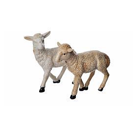 Sheep in resin H8cm s3
