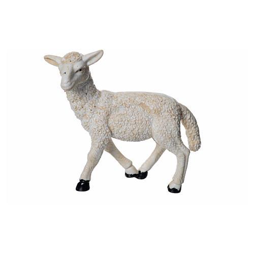 Sheep in resin H8cm 1