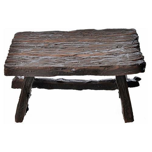 Mini table en résine 8,5x6x4,5cm 1
