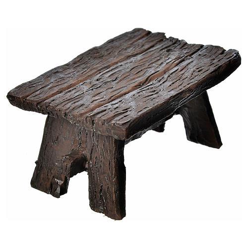 Table in resin 8,5x6x4,5cm 2