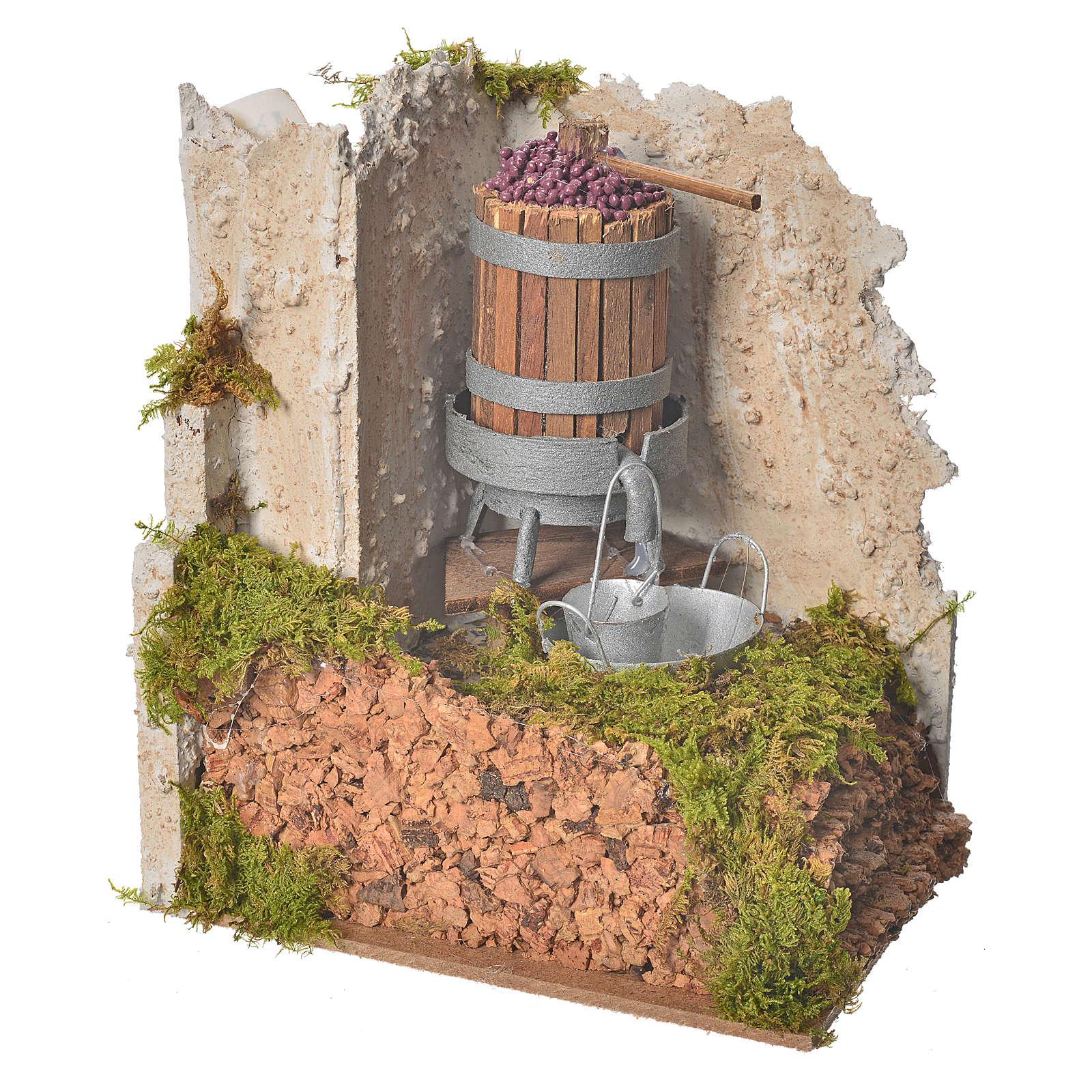 Torchio con pompa 15x10x15 cm 4