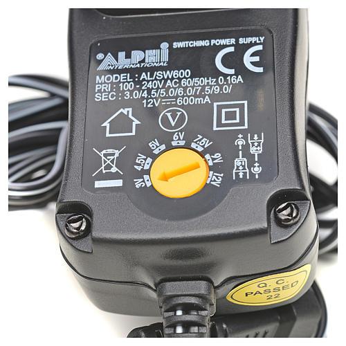 Transformer 600MA, adjustable, for nativities 2