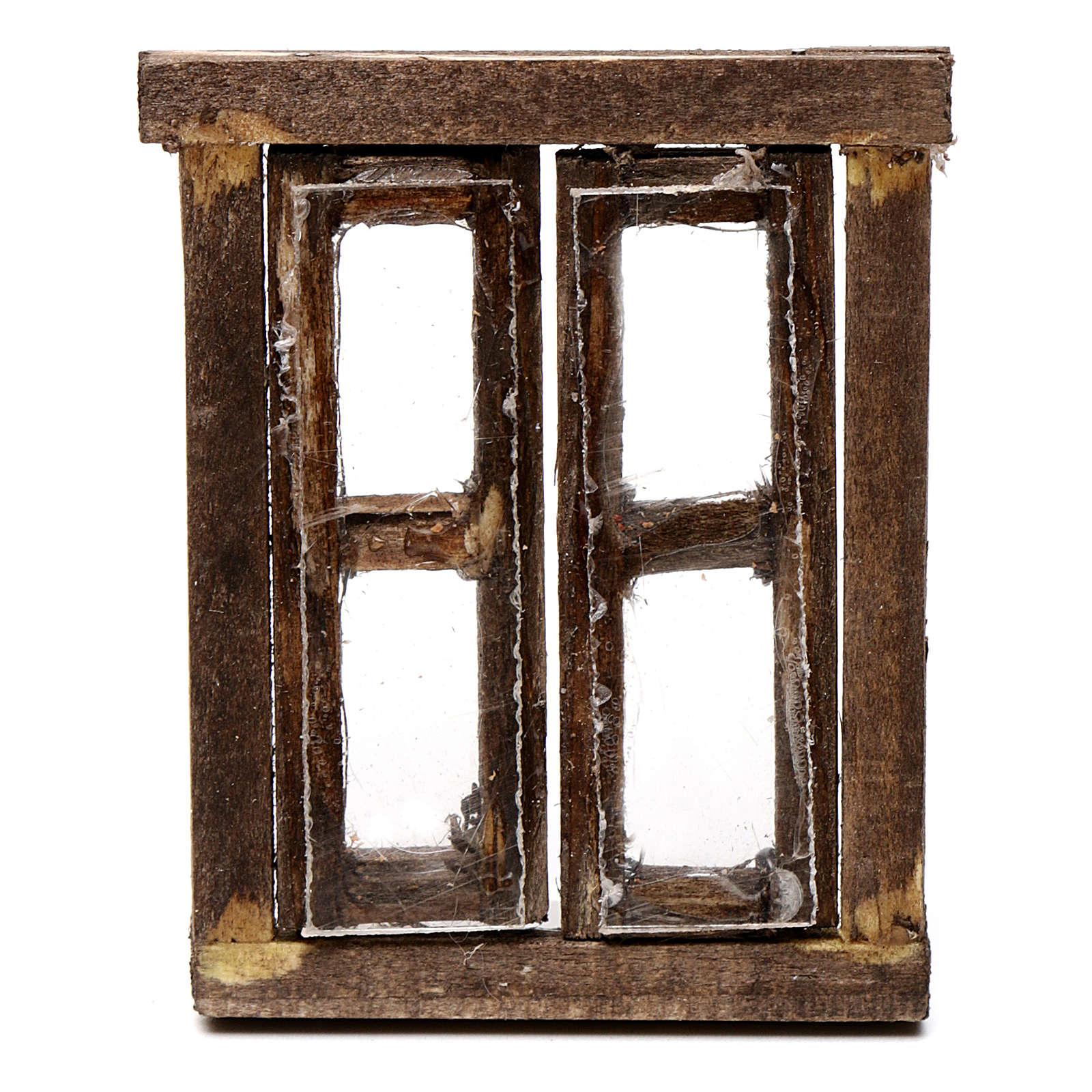Finestra presepe 2 ante con infisso 5,5x4,5 cm 4