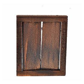 Finestra presepe 2 ante con infisso 5,5x4,5 cm s2