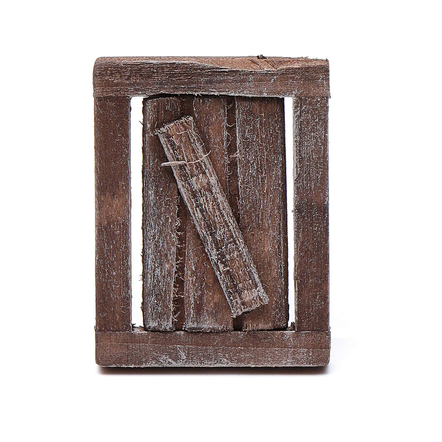 Ventana madera 1 Hoja 4 x 3 cm 4
