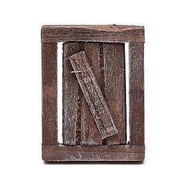 fen tre 1 volet en bois avec ch ssis 4x3 cm vente en ligne sur holyart. Black Bedroom Furniture Sets. Home Design Ideas