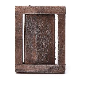 Finestra anta legno con infisso 4x3 cm s2
