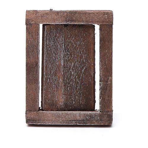 Finestra anta legno con infisso 4x3 cm 2