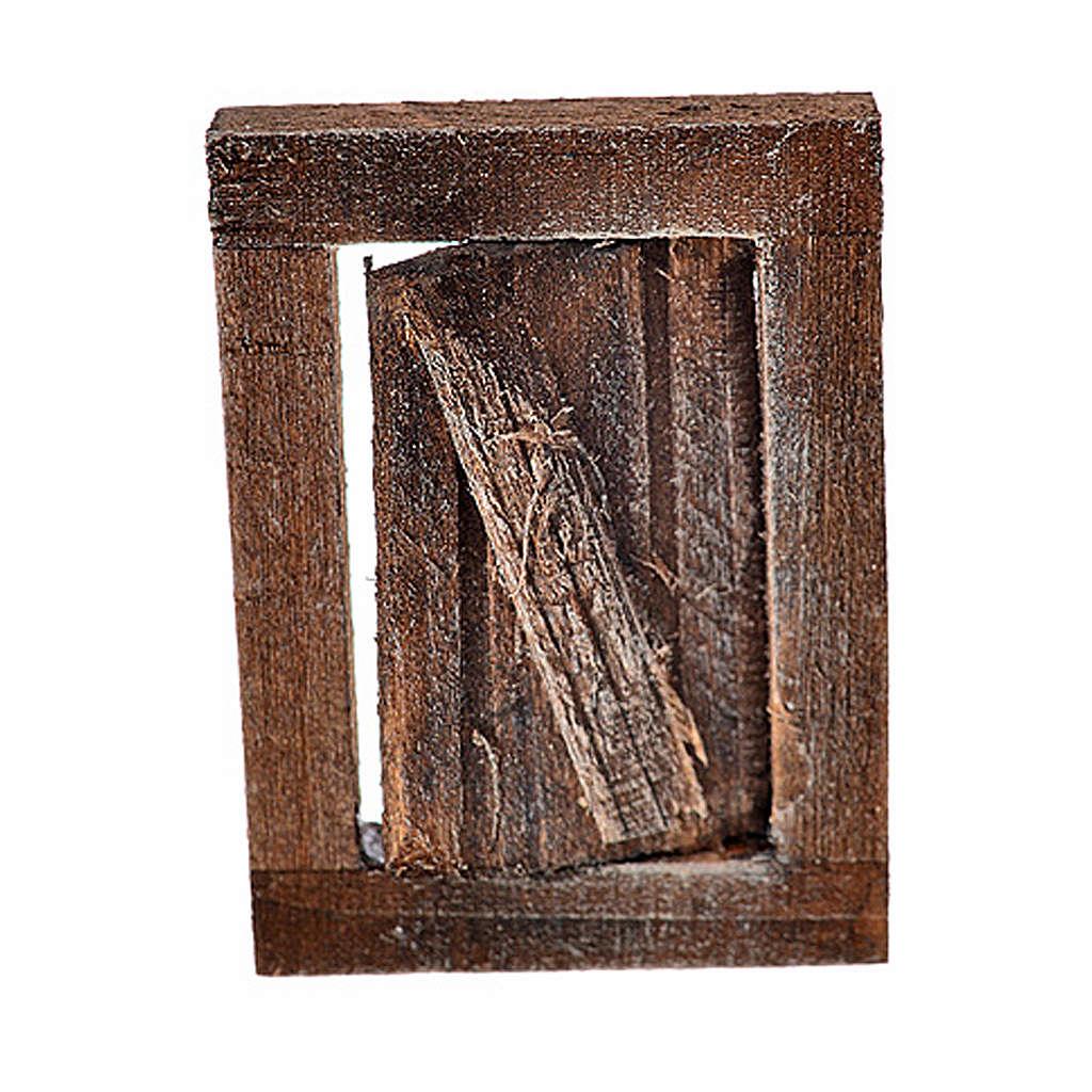 Finestrella con infisso 4x2.5 cm per presepe 4