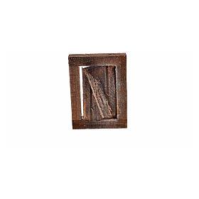 Finestrella con infisso 4x2.5 cm per presepe s3