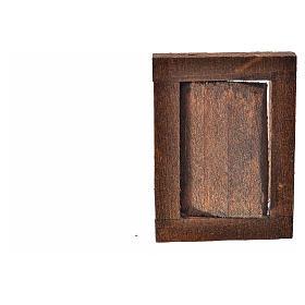 Finestrella con infisso 4x2.5 cm per presepe s4