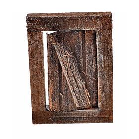 Finestrella con infisso 4x2.5 cm per presepe s1