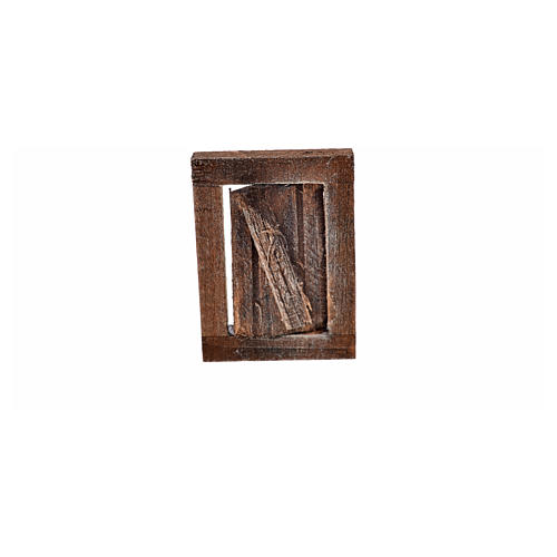Finestrella con infisso 4x2.5 cm per presepe 3