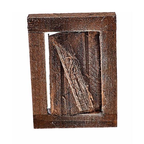 Finestrella con infisso 4x2.5 cm per presepe 1