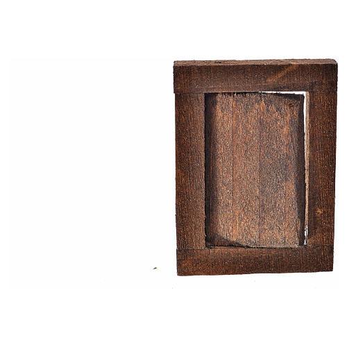 Finestrella con infisso 4x2.5 cm per presepe 2