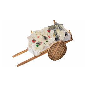 Wóz neapolitański ryby z wosku 10x18.5x7 cm s3