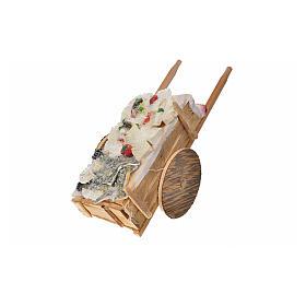 Wóz neapolitański ryby z wosku 10x18.5x7 cm s4