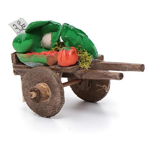 Char fruits et légumes crèche napolitaine 5,5x7,5x5,5cm 2