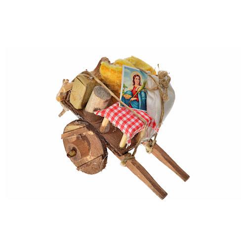 Neapolitan Nativity accessory, evicted cart 5.5x7.5x5.5cm 3