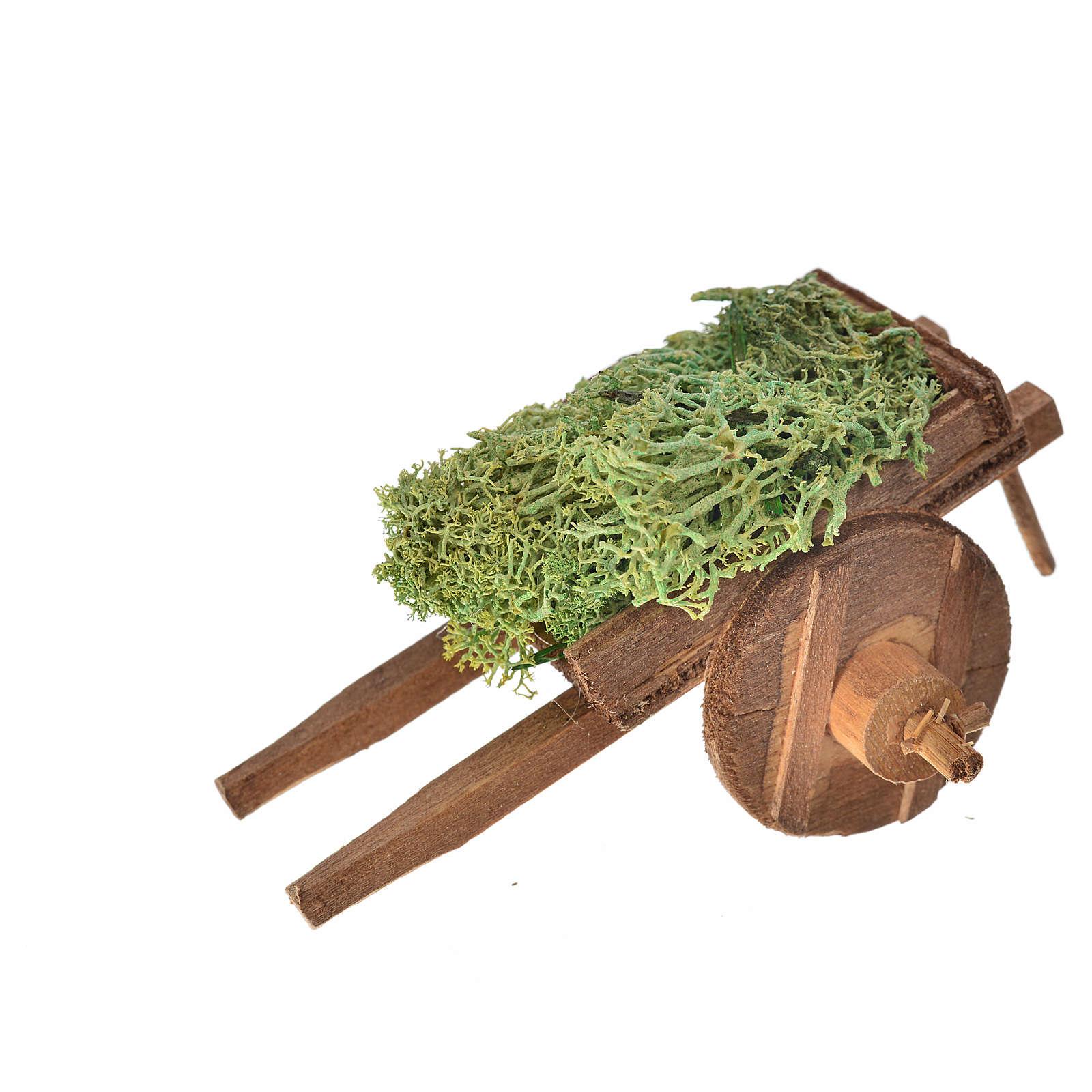 Carro napoletano lichene 5,5x7,5x5,5 cm 4