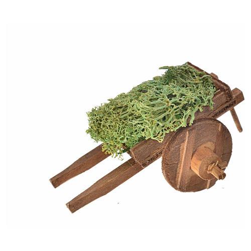 Carro napoletano lichene 5,5x7,5x5,5 cm 3
