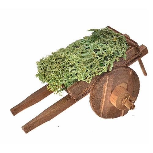 Carro napoletano lichene 5,5x7,5x5,5 cm 1