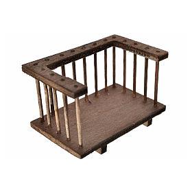 Balcón madera belén 7x3.5x4 s2