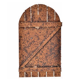 Puerta belén madera de arco 12x7 s1
