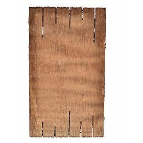Nativity accessory, wooden door 12x7cm s2