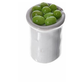 Pot miniature avec nourriture pour crèche s3