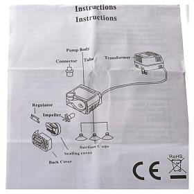 Pompa acqua presepe AP300LV 2W s5