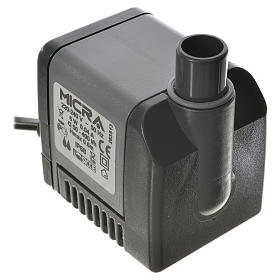 Bomba de agua y motores para movimientos: Bomba agua belén MICRA 400 litros/hora 6W