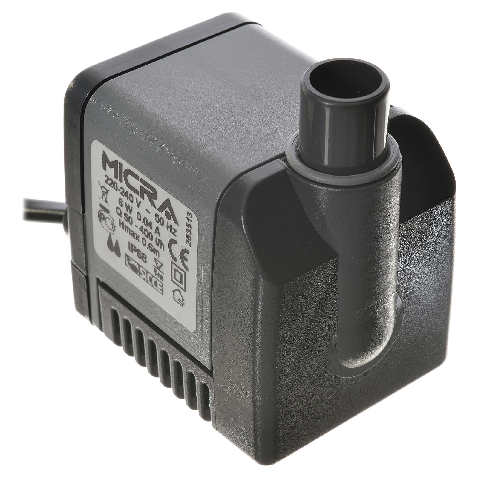Pompa acqua presepe MICRA 400 litri/ora 6W 4