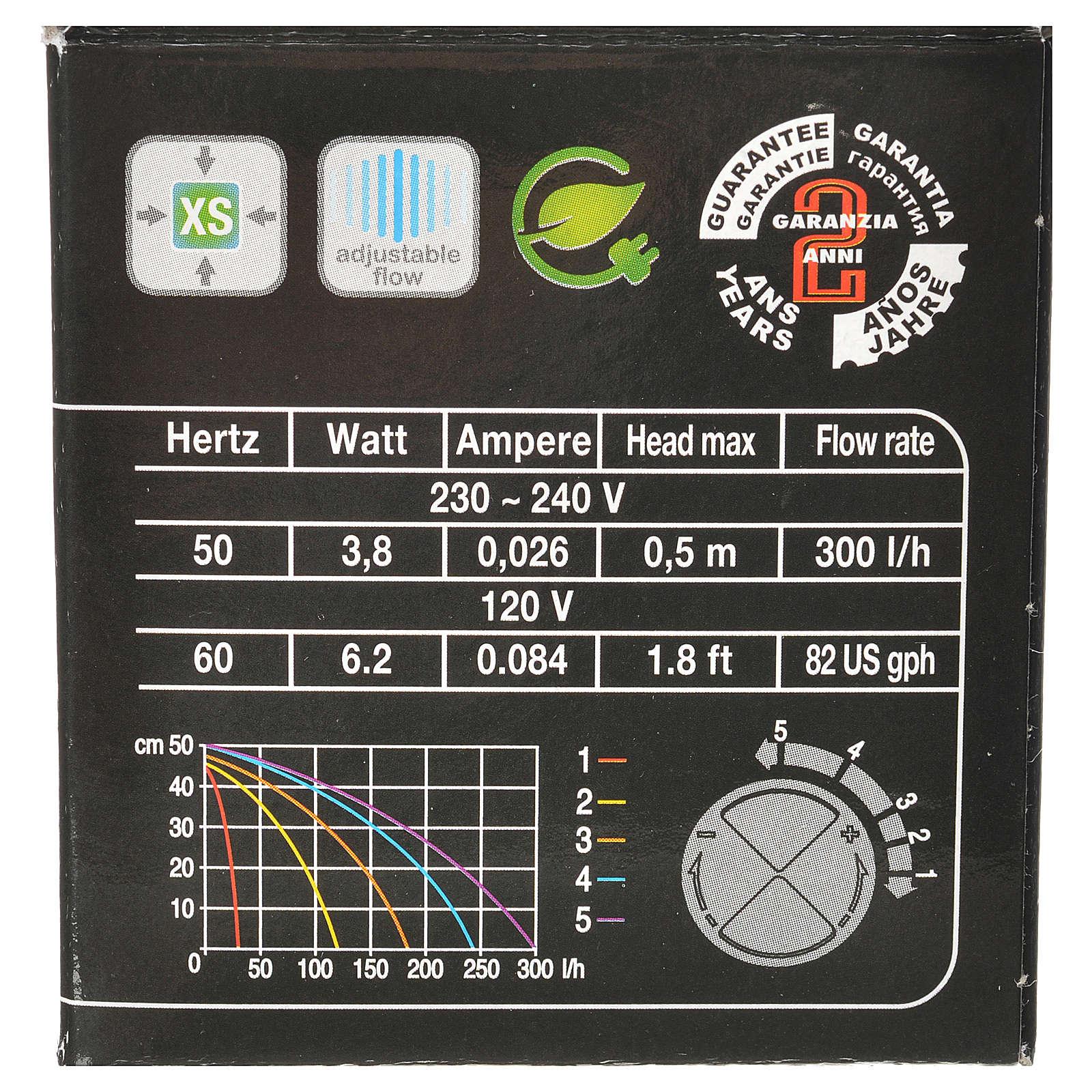 Pompa wodna szopka MIMOUSE 300l/h 3.8W 4