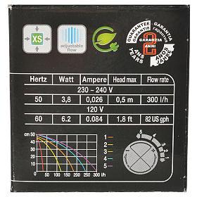 Pompa wodna szopka MIMOUSE 300l/h 3.8W s5