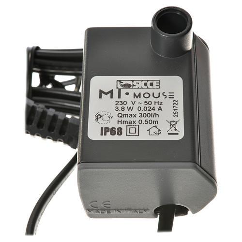 Pompa wodna szopka MIMOUSE 300l/h 3.8W 3