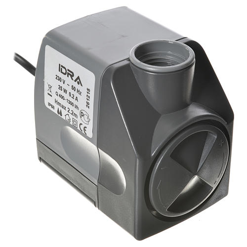 Pompe à eau crèche Idra réglable 400-1300l/h 25W 1