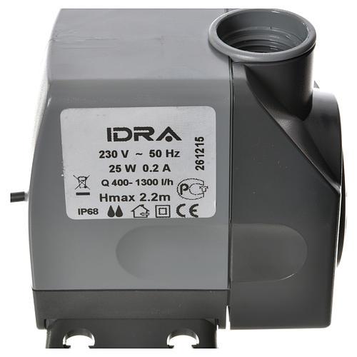 Pompe à eau crèche Idra réglable 400-1300l/h 25W 5